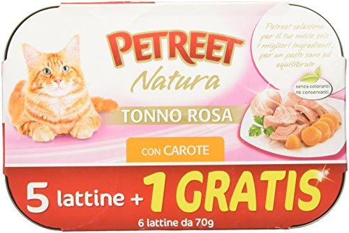 PETREET Nature Thon Rose/Carottes GR 70 (5 + 1)