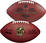 "Wilson""The Duke"" Official NFL Leather Football - NFL Balls"