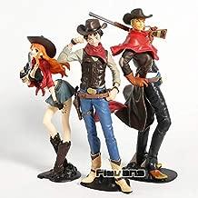 GrandToyZone FIGURE SERIES - One Piece Figure - Roronoa Zoro / Nami / Monkey D Luffy Treasure Cruise World Journey Series Figure - 18-21cm (7.1-8.3 inch) (Luffy)