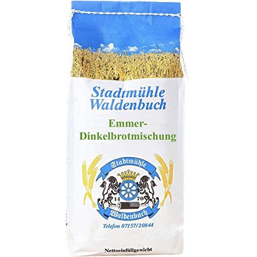 Emmer Dinkelbrotmischung, Brotbackmischung, Feinste Bäckerqualität, 2.5 kg