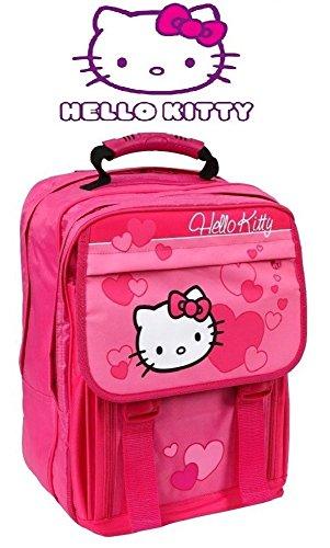 Sanrio Hello Kitty Undercover HK11830 Kinder Schultasche Rucksack Schulrucksack pink
