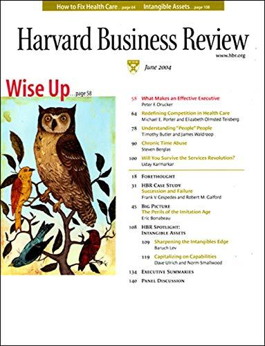 Harvard Business Review, June 2004 copertina