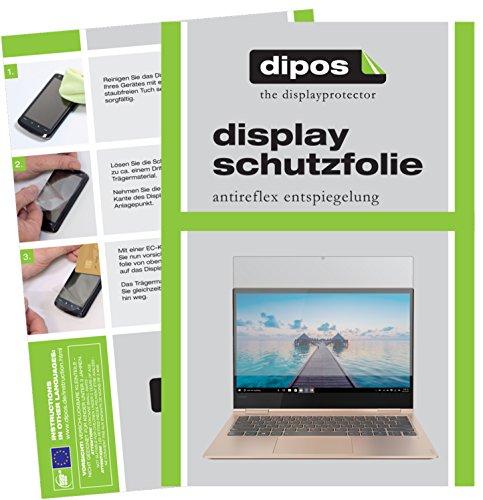 dipos I 2X Schutzfolie matt kompatibel mit Lenovo Yoga 730-13IKB (13.3 Zoll) Folie Bildschirmschutzfolie