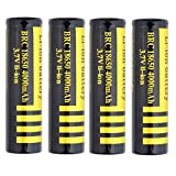 #N/A 18650 Akkus 18650 Batterien LI-MN 3.7V 4000mah niple Pulsante Superiore Batteria...
