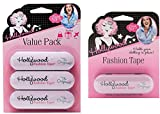 Hollywood Fashion Secrets Fashion Tape Tin, 4 Pack x 36 ct tin