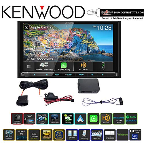 For Sale! Kenwood Excelon DNX996XR 6.8 DVD Navigation Receiver with KNA-SPM100 ODB2 Port Adapter an...