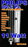 Philips PL Lampe 11 Watt UV-C Ersatzlampe Länge: 236mm Version 2013