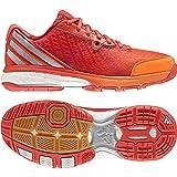adidas Energy Volley Boost 2.0 W, Zapatos de Voleibol Mujer, Azul (Azumis/narbri/corsen), 40.5 EU