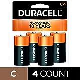 Best C Batteries - Duracell Coppertop Alkaline Batteries C 4 ea Review