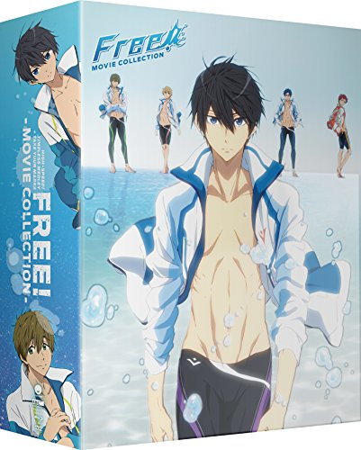 Free! Movie Collection: High Speed! & Timeless Medley & Take Your Marks [Blu-ray]