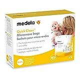 Zoom IMG-1 medela quick clean sacche per