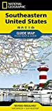 Southeastern USA (National Geographic Guide Map)