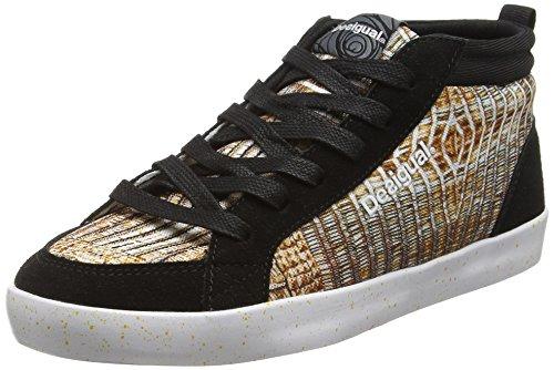 Desigual Shoes_Classic Mid G, Scarpe Sportive Indoor Donna, Oro (DORADO8010), 40 EU