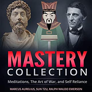 Couverture de Mastery Collection: Meditations, The Art of War, and Self Reliance