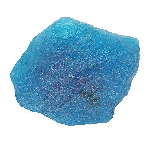 Real Gems 634.00 CTS de Piedras Preciosas de Aguamarina cruda Natural, Cristal curativo de Aguamarina en Bruto, Piedra Preciosa Suelta de Aguamarina cruda Superior