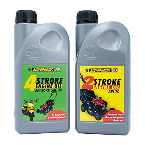 Silverhook SHMA1 4 Stroke SAE30 Engine Oil, 1 Liter