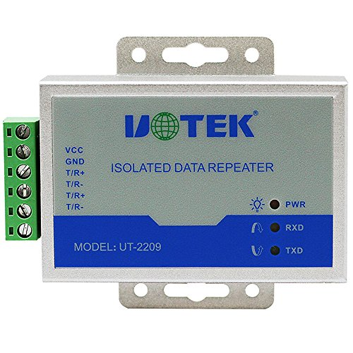 UT-2209 Industrial RS-485 Repeater with Optical Isolation