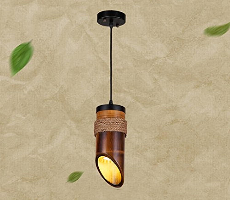 YJWOZ Hanf Kronleuchter, American Village Retro Kronleuchter Restaurant Gang Gang Korridor Bambus Hngelampen 100  260mm, 300  900mm Leuchter (Farbe   1 Kopf)