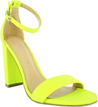 neon yellow shoes womens