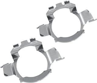 Auxbeam H7 LED kit Headlights Bulbs Base Holders Adapters for BMW Audi Mercedes-Benz VW Buick Nissan (Pack of 2)