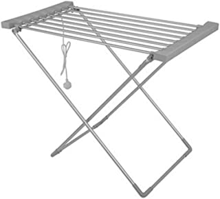Foldable Electric Clothes Drying Rack, Multifunction Electric Heated Towel Rail Home Bathroom Shoes Drying Rack