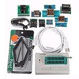 Electronic Accessories & Supplies TL866II - Programador USB Mini Pro con 10 adaptadores EEPROM FLASH 8051 AVR MCU SPI ICSP