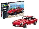 Revell 07668 - maquette de voitute Jaguar Type E (Coupé) à construire, échelle 1/24