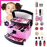 Bloomma 23pcs Juego de Maquillaje de cosméticos y Maquillaje realistas Set de Maquillaje para niñas,Regalo de cumpleaños para niña