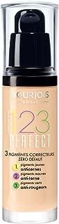 Bourjois Fond de Teint 123 Perfect Foundation for Women, 52 Vanille, 1 Ounce