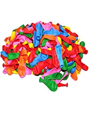 100 Count/Pack Balloons 12 Inch Assorted Multicolor Color Thicken Latex Balloons For Birthday Party Christmas Weddings And Holidays (100Pcs)