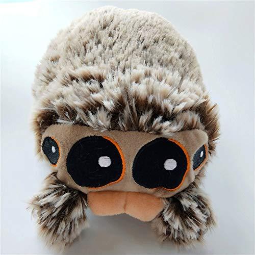 Zzlush Plüsch-Puppe Figur Spielzeug-Kissen-Tier, Spinne Plüsch-Puppe Insekten Spinne Plüschtier Geschenke Kindergeburtstag senden Freundin Geschenk