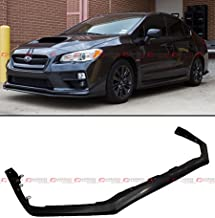 Fits for 2015-2017 Subaru WRX STi V limited PU Front Bumper Chin Lip Spoiler Splitters