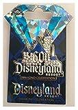 Disneyland 60th Anniversary Diamond Celebration Sleeping Beauty Castle Trading Pin