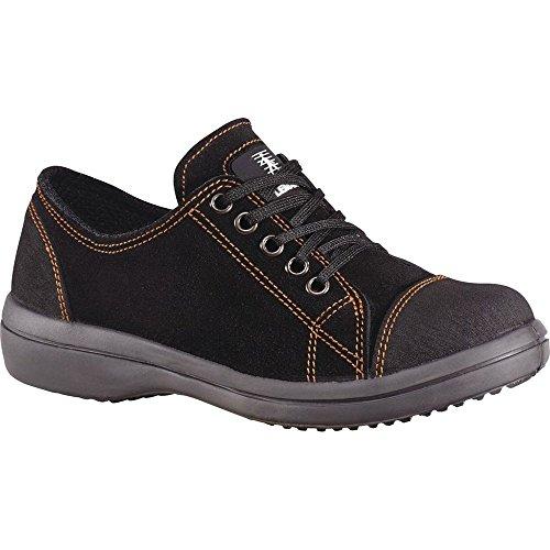 Lemaitre - Vitamine Bas, Zapatos de Seguridad Mujer, Negro (Schwarz Schwarz), 39 EU