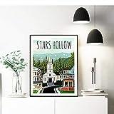 TeriliziPoster Und Kunstdrucke Stars Hollow Poster