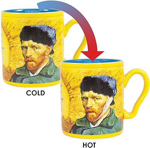 Van Gogh Disappearing Ear Mug - Add Coffee or Tea and Van Gogh's Ear