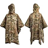 WINWAY Military Style Poncho Multi Use...