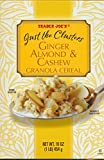 Trader Joe's Just the Clusters Ginger Almond & Cashew Granola Cereal (16 oz.)