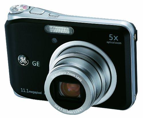 GE General Electric A1150Cámara Digital (11Mega Pixeles, 5Capas Opt. Zoom, Pantalla de 6,4cm (2,5Pulgadas))