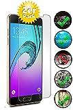 Smartphone-Equipment [2er Pack] Panzerglas für Samsung Galaxy A5 2016 Echt-Hartglas 9H, Glasfolie Schutzfolie Glas Folie Panzerfolie Bildschirm Schutz