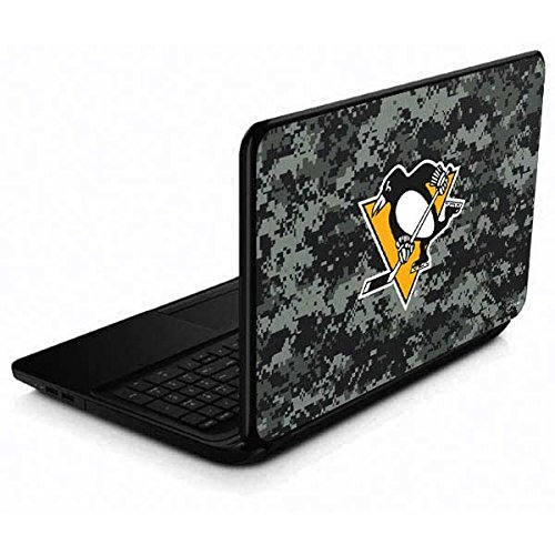 Skinit Decal Laptop Skin for 15.6 in 15-d038dx - Officially Licensed NHL Pittsburgh Penguins Camo Design