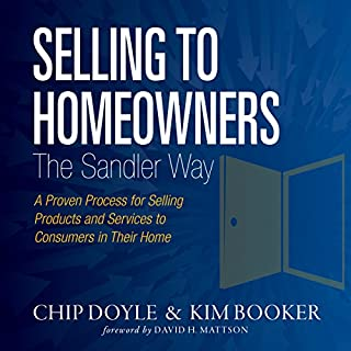 Page de couverture de Selling to Homeowners the Sandler Way