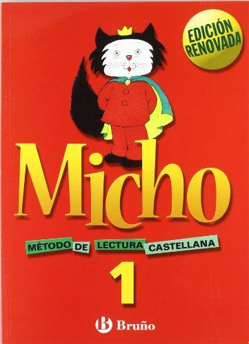 Micho 1 Método de lectura castellana - 9788421650684