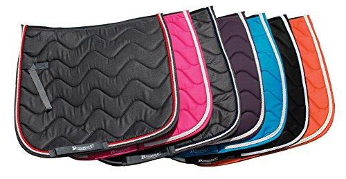 Rhinegold Wave Saddle Pad-Full-Denim/