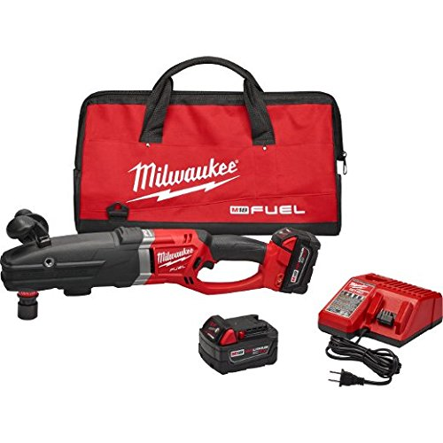 Milwaukee 2711-22 M18 Fuel Super Hawg Right Angle Drill Kit with Quik-Lok