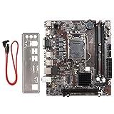 Placa Base para Computadora de Escritorio Placa Base para Computadora de Alto Rendimiento H55M-USB LGA1156 DDR3 1333 / 1066MHz Soporte 1156 Pines para Core First Generation + para la Serie Xeon