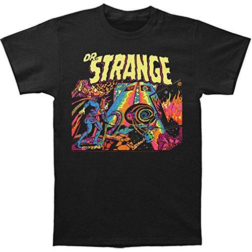 Marvel–Dr. Strange con Angoli Jersey S/S T-Shirt in Nero Black X-Large