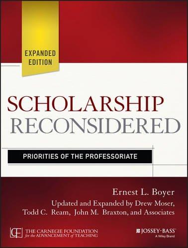 Download Scholarship Reconsidered: Priorities of the Professoriate 1118988302