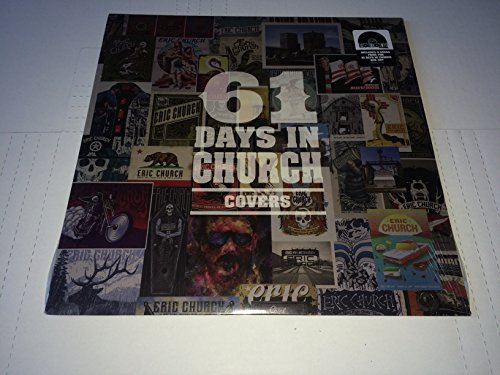 61 Days In Church - Covers LP Vinyl 2018 RECORD STORE DAY Exclusive