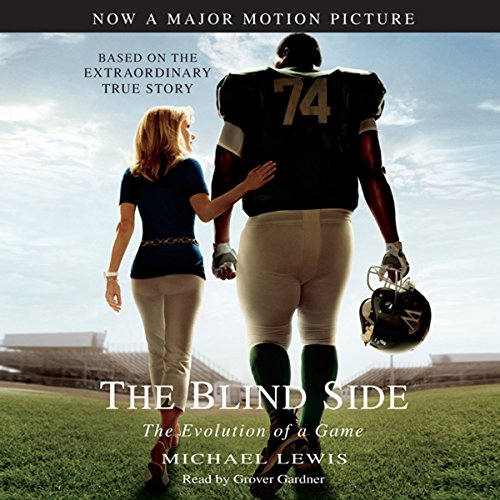 The Blind Side audiobook cover art